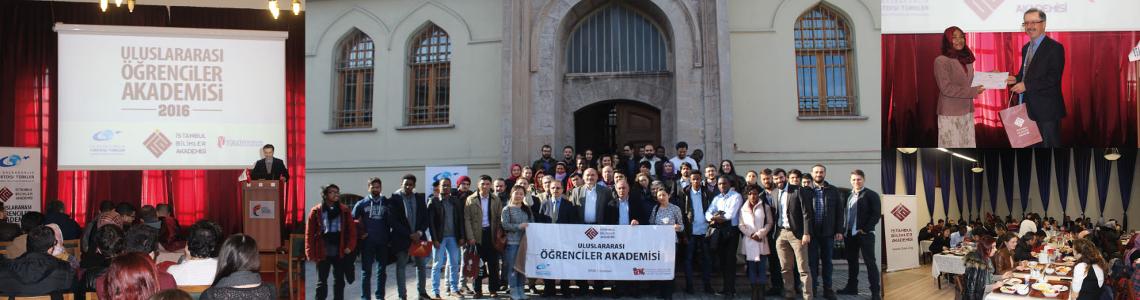 2016 Yılı Uluslararası Öğrenciler Akademisi Kapanış Programı