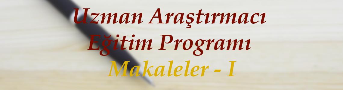 İBA Uzman Araştırmacı Eğitim Programı Makaleler - I kitabı yayımlandı!